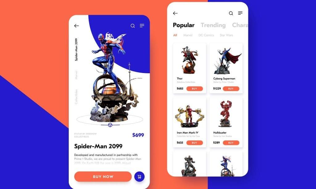Ecommerce App Designs