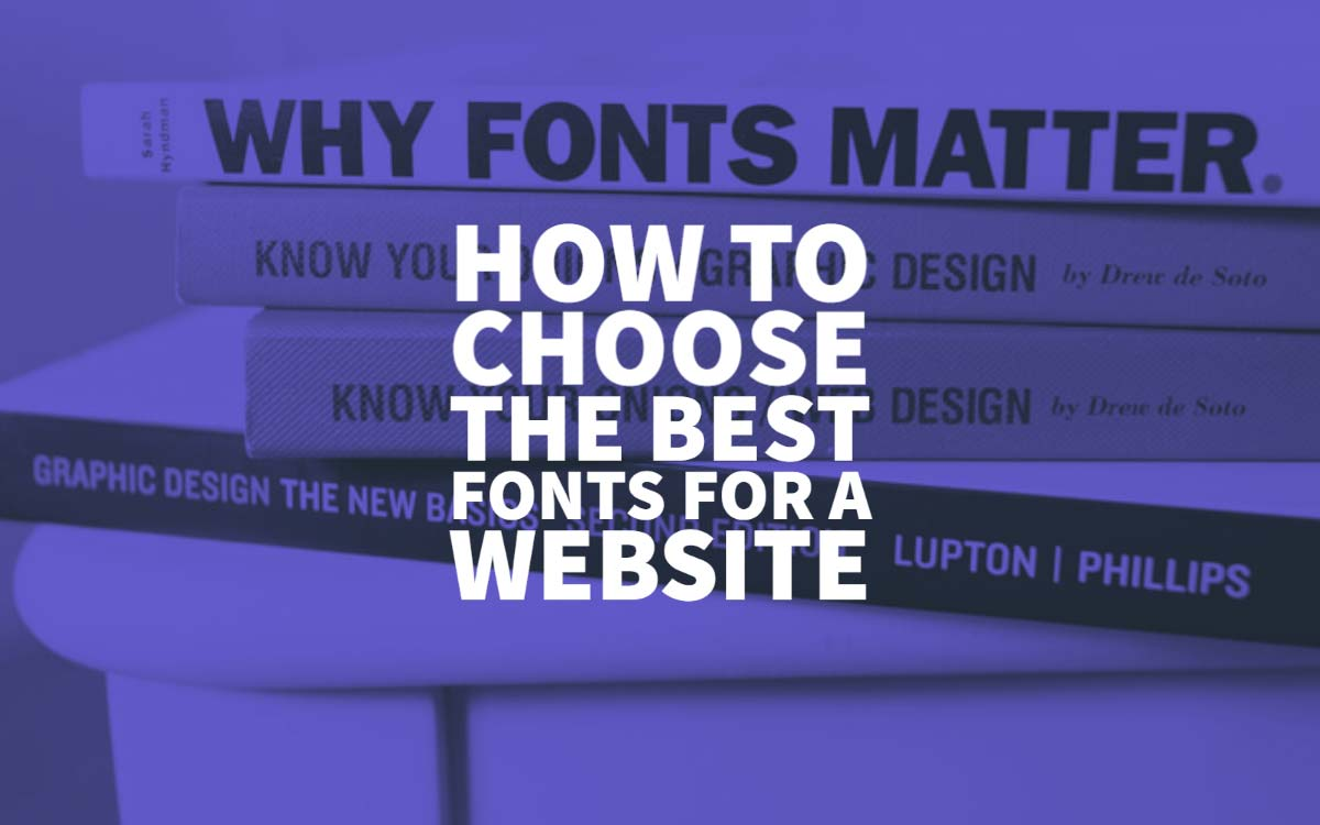 Best Fonts For A Website