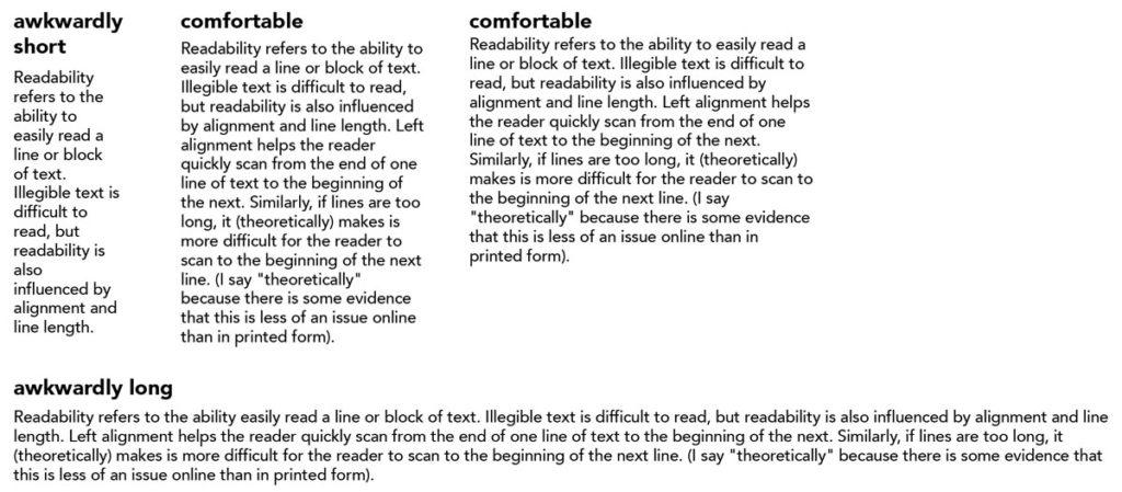 Legibility Vs Readability
