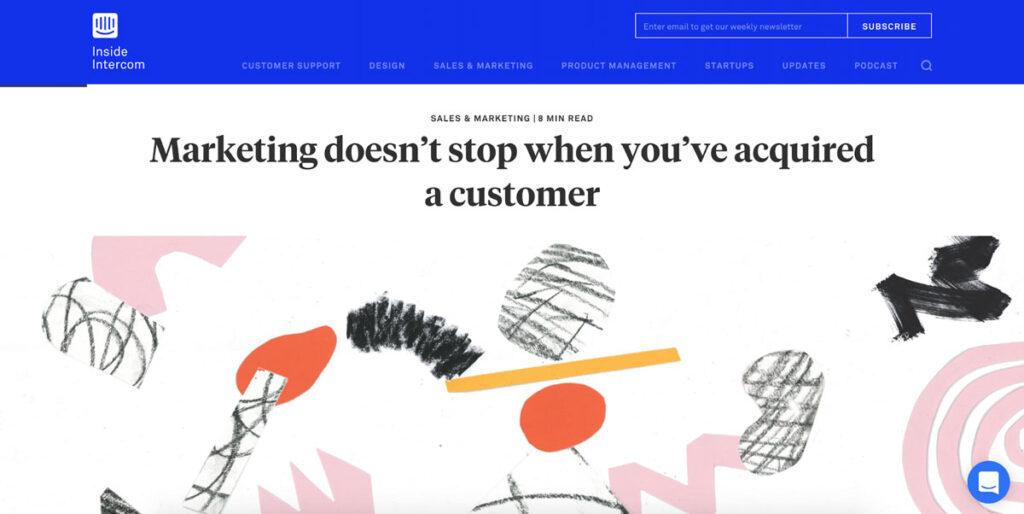 Web Design Trend Hand Drawn