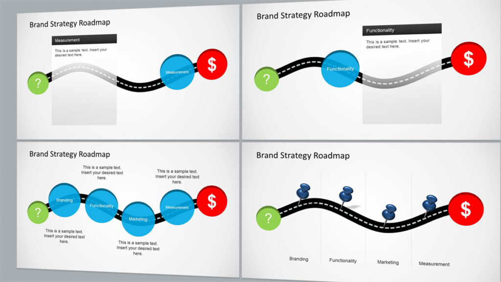 Brand Strategy Roadmap Presentation Template