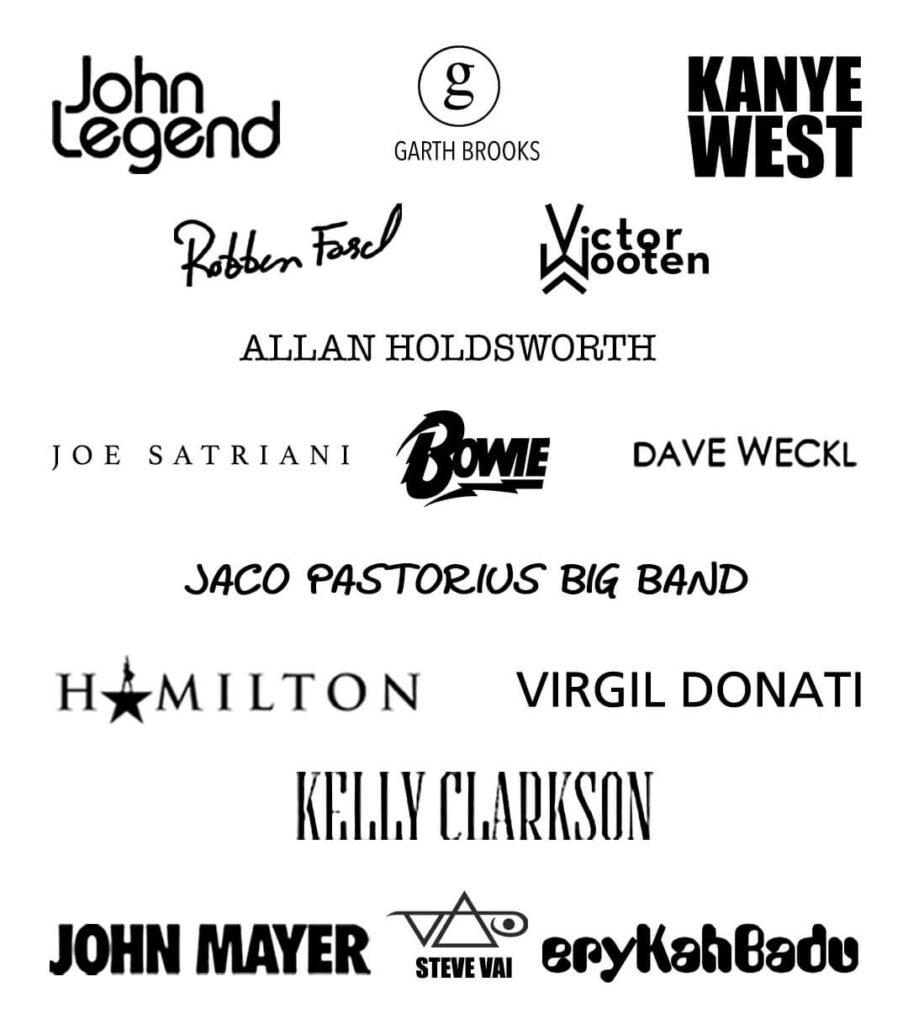 Best Musician Logo Designs
