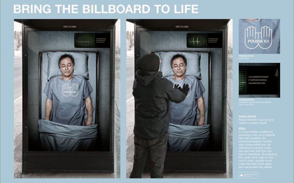 Interactive Billboard Designs
