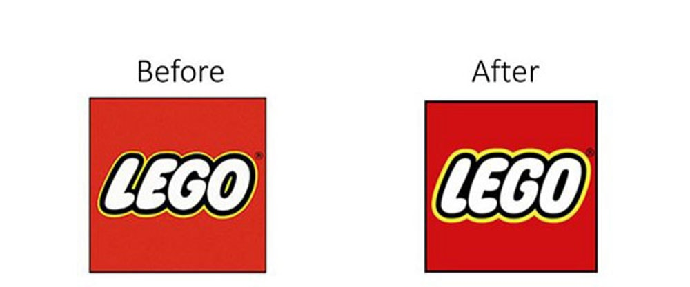 Lego Logo Redesign Example