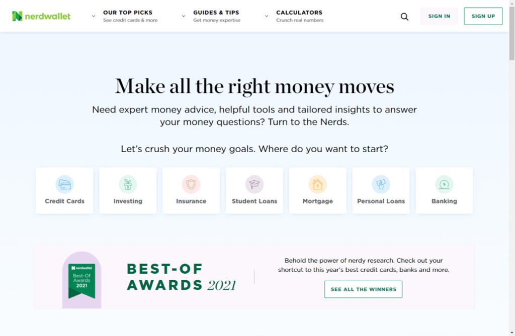 Nerdwallet Make All The Right Money Moves
