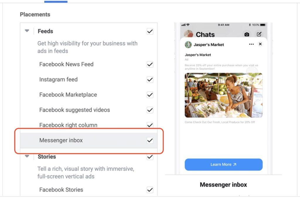 Facebook Inbox Vs Newsfeed