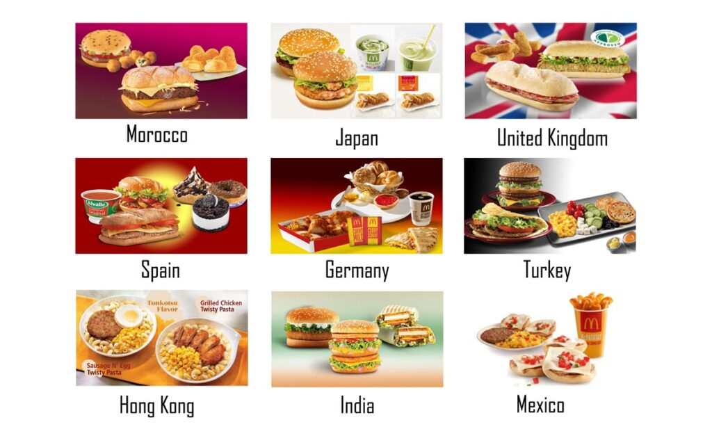 Mcdonalds Different Around The World