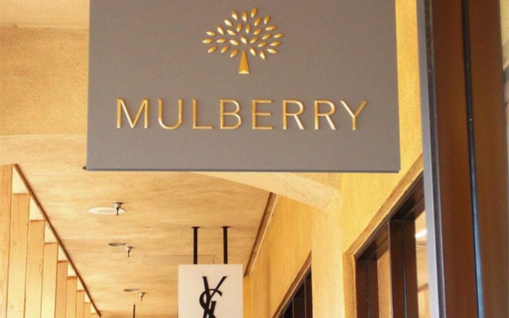 Mulberry Interior Signage Design