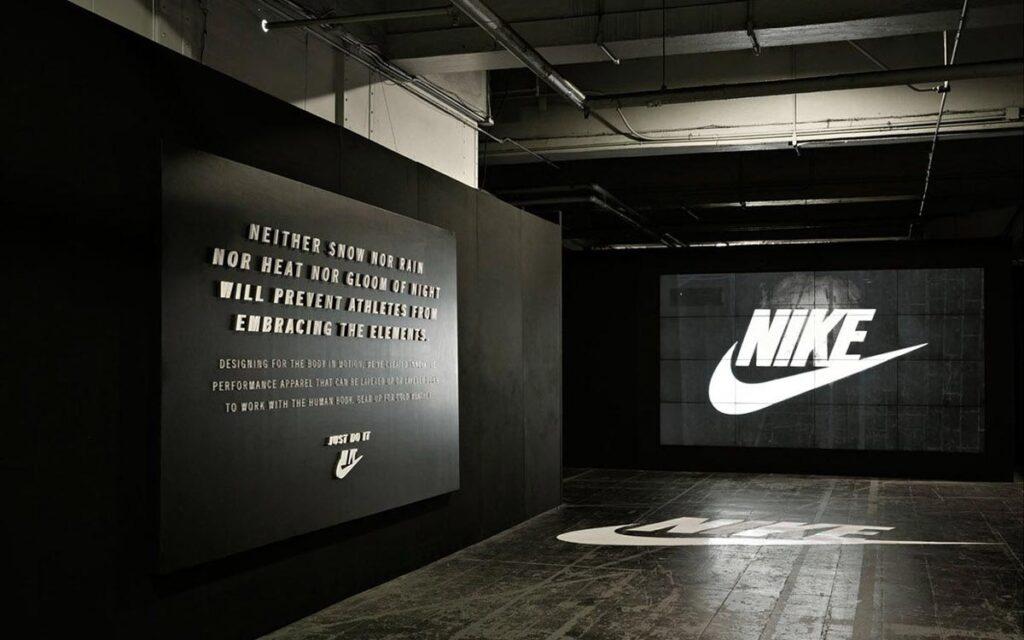 Nike Branding Signs Indoors