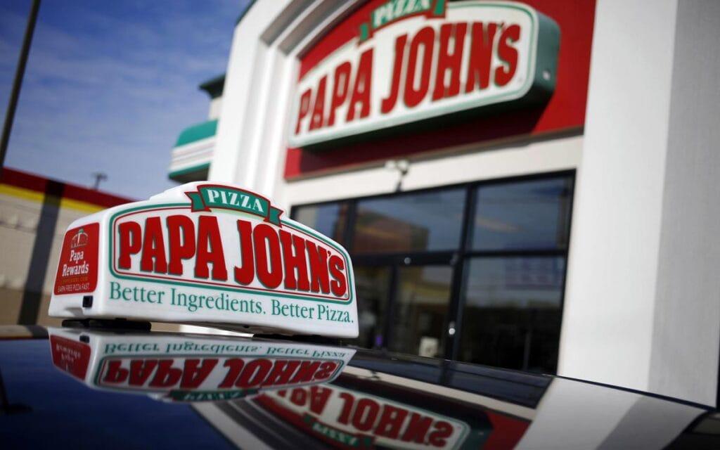 Papa Johns Business Signage
