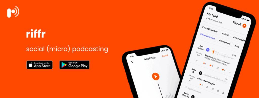 Riffr Social Micro Podcasting App