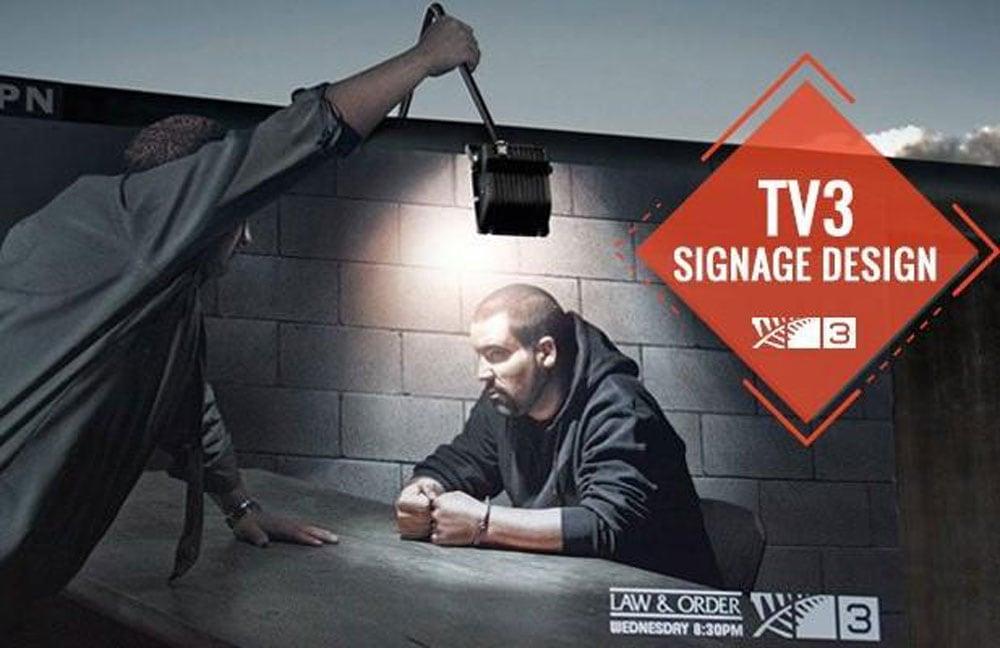 Tv3 Signage Design Ideas