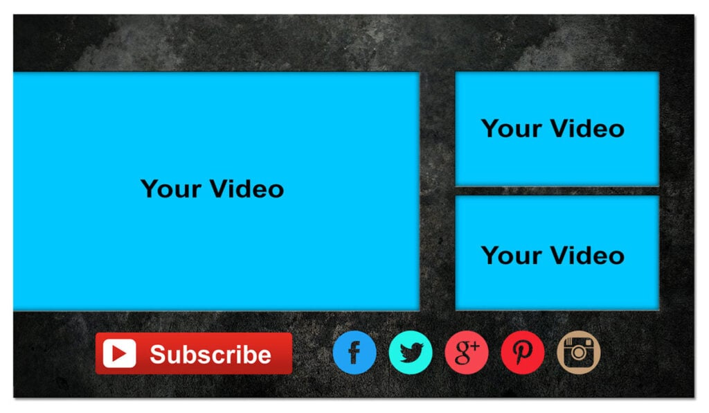 Youtube Content Marketing Call To Action Template