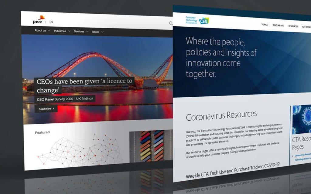 Best Examples Of Corporate Website Designs