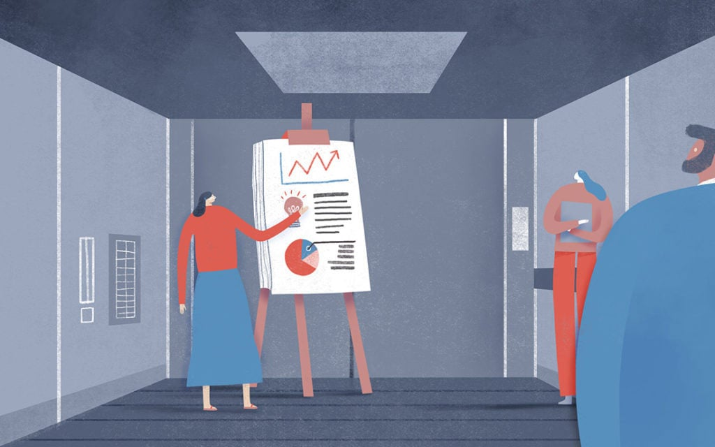 Design Elevator Pitch Examples