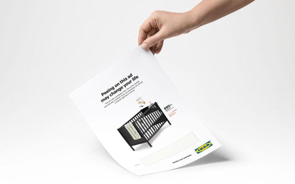 Ikea Pregnancy Test Advert