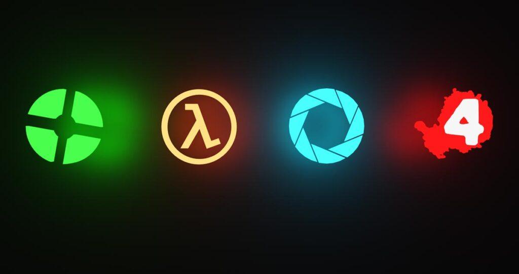 Valve Logos Game Swag Marketing