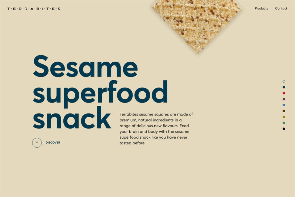 Best Examples Of Beige Web Design Colours