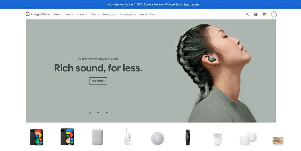 Google Storefront Branding Colours