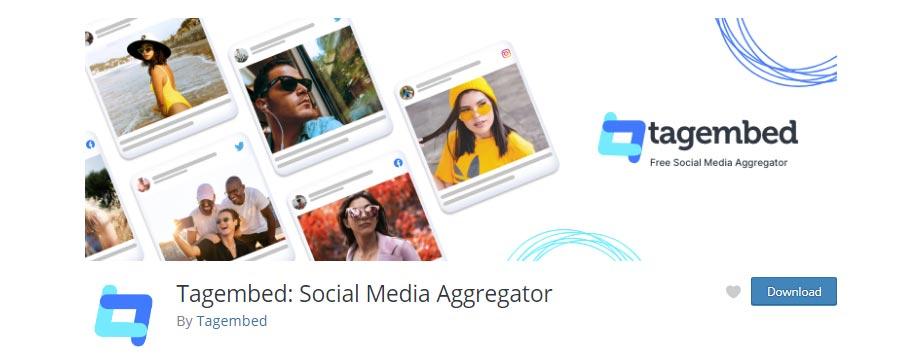 Tagembed Social Media Aggregator – Wordpress Plugin