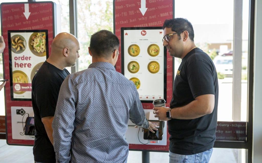 Digital Menu Board Restaurants