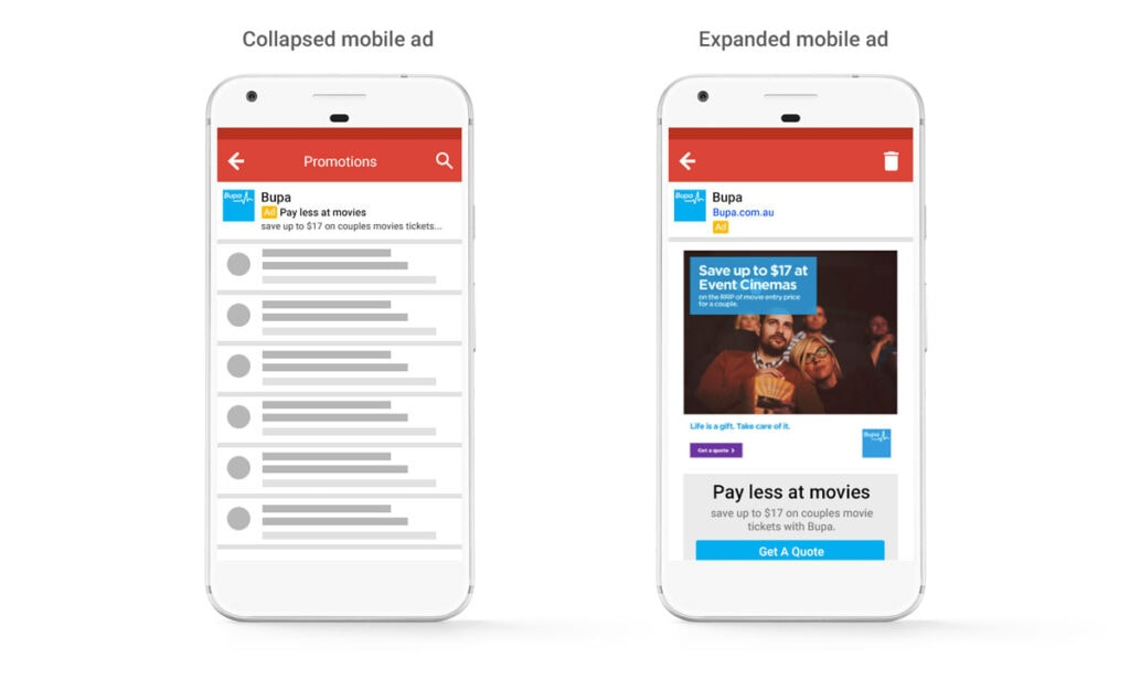 Gmail Ads On Mobile