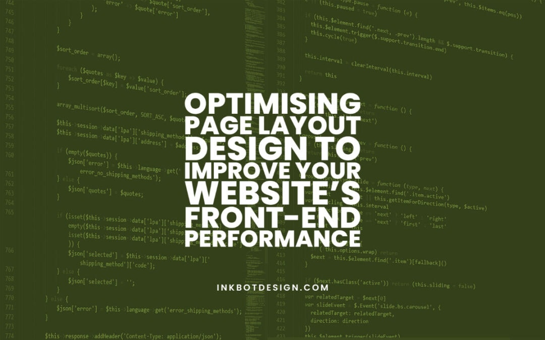 Optimising Page Layout Design Performance