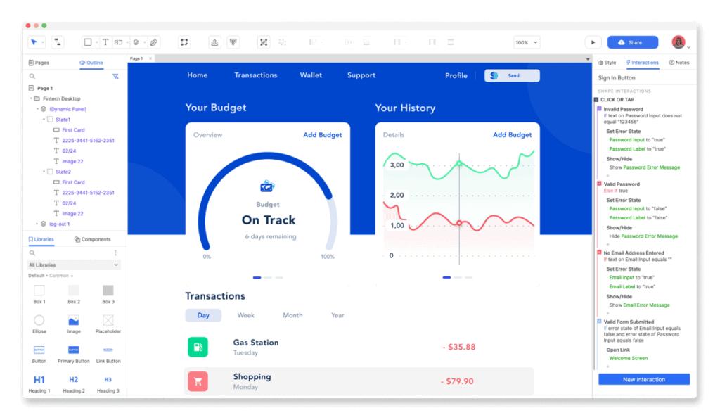 Axure Ui Design Tool Free